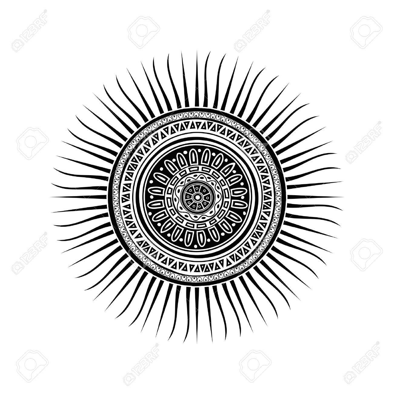 Sun Mandala Tattoo Google Search Tattoos Pinterest Tatouage