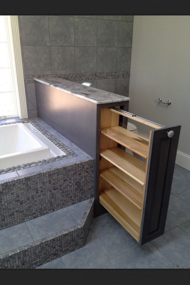 Ways To Creatively Add Storage To Your Bathroom Secret - Bathroom compartment