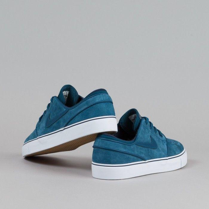 Nike SB Stefan Janoski SE Shoes Blue Force / Blue Force - Obsidian - White