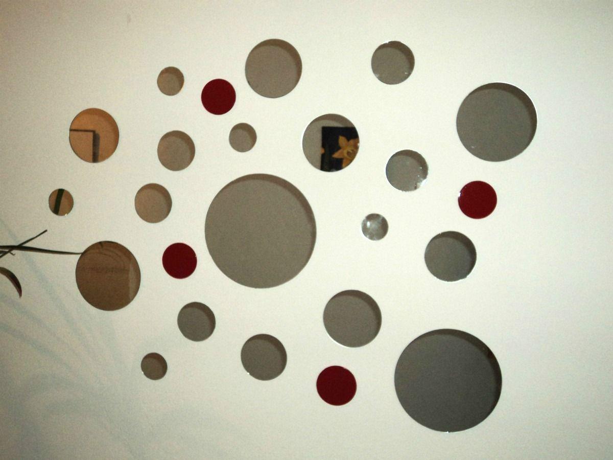 Espejos decorativos redondos cuadrados en diferentes for Espejos circulares pared