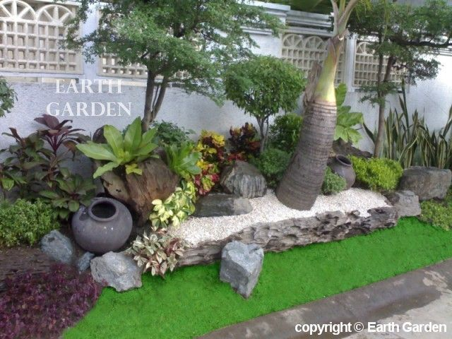 garden tropical gardens with beautiful design heimdecor
