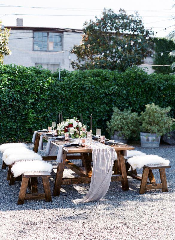 Puget Sound Farm Tables Wedding Rental Event Rental Wedding Chair Rentals With Images Farm Table Farm Table Wedding Tablescape Inspiration