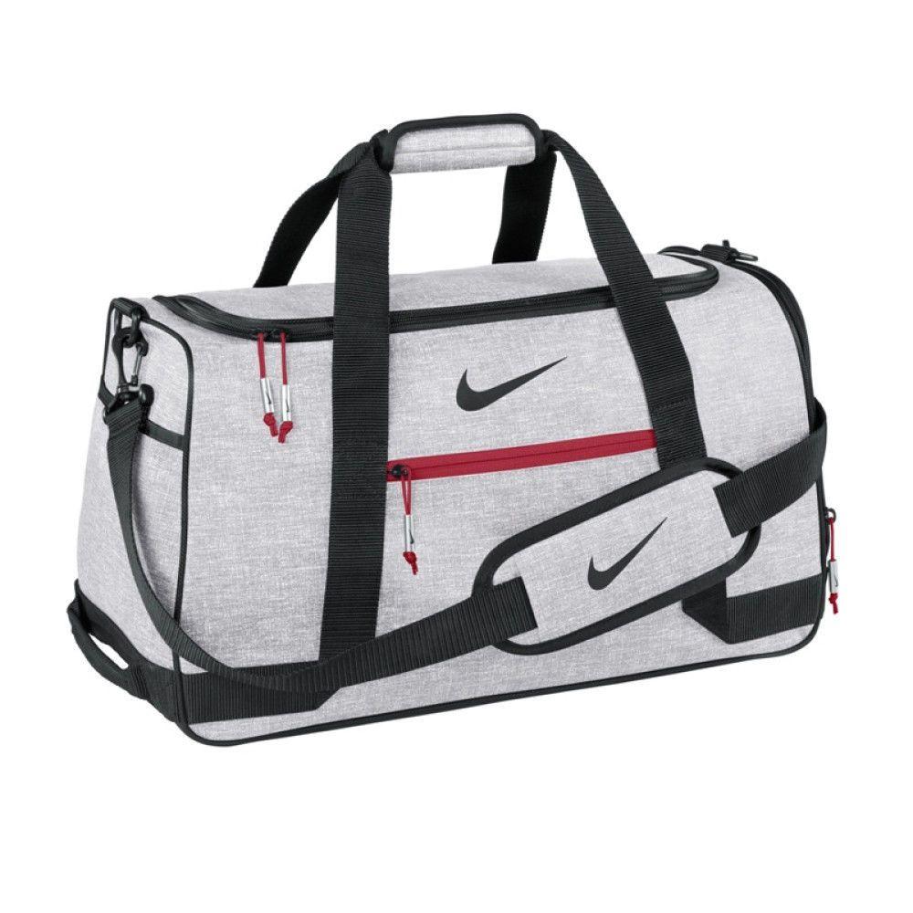 NIKE Golf Sports Duffel III Boston Bag Sliver New Football Tennis NEW  GA0261  Nike 049f45592d69d