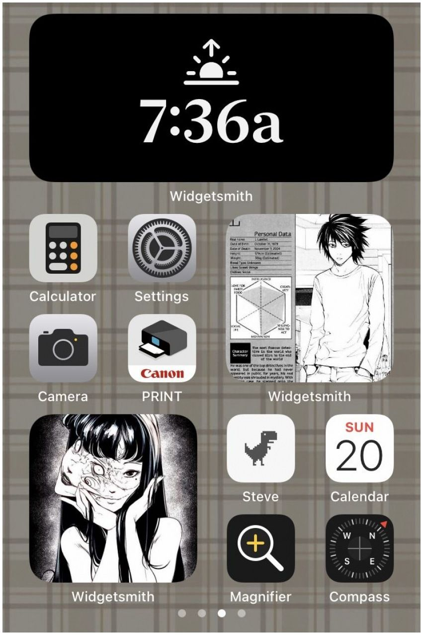 Ios 14 Home Screen Ideas Anime In 2021 Homescreen Homescreen Layout Ios App Iphone