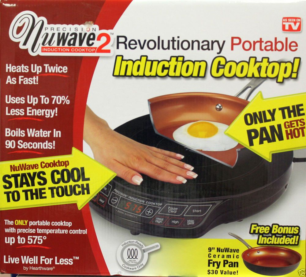 Precision Nuwave 2 Revolutionary Portable 1300w Induction Cooktop New Induction Cooktop Cooktop Nuwave