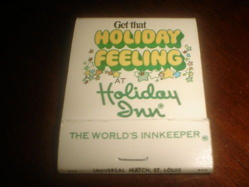 Vintage Matchbook Holiday Inn 820 W Main Street Anoka Minnesota Mn Hotel