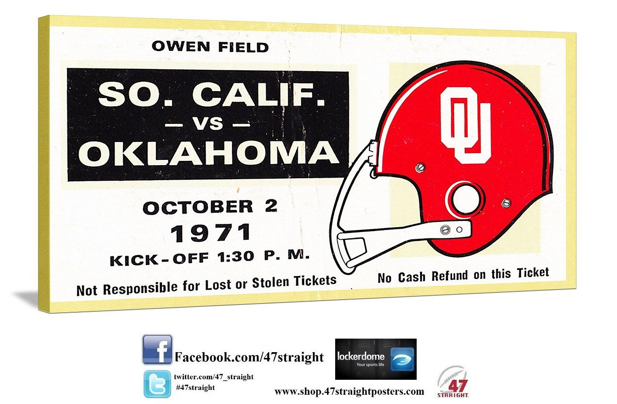 Row One Brand Home Of Row One Oklahoma Football Football Ticket Gifts For Football Fans