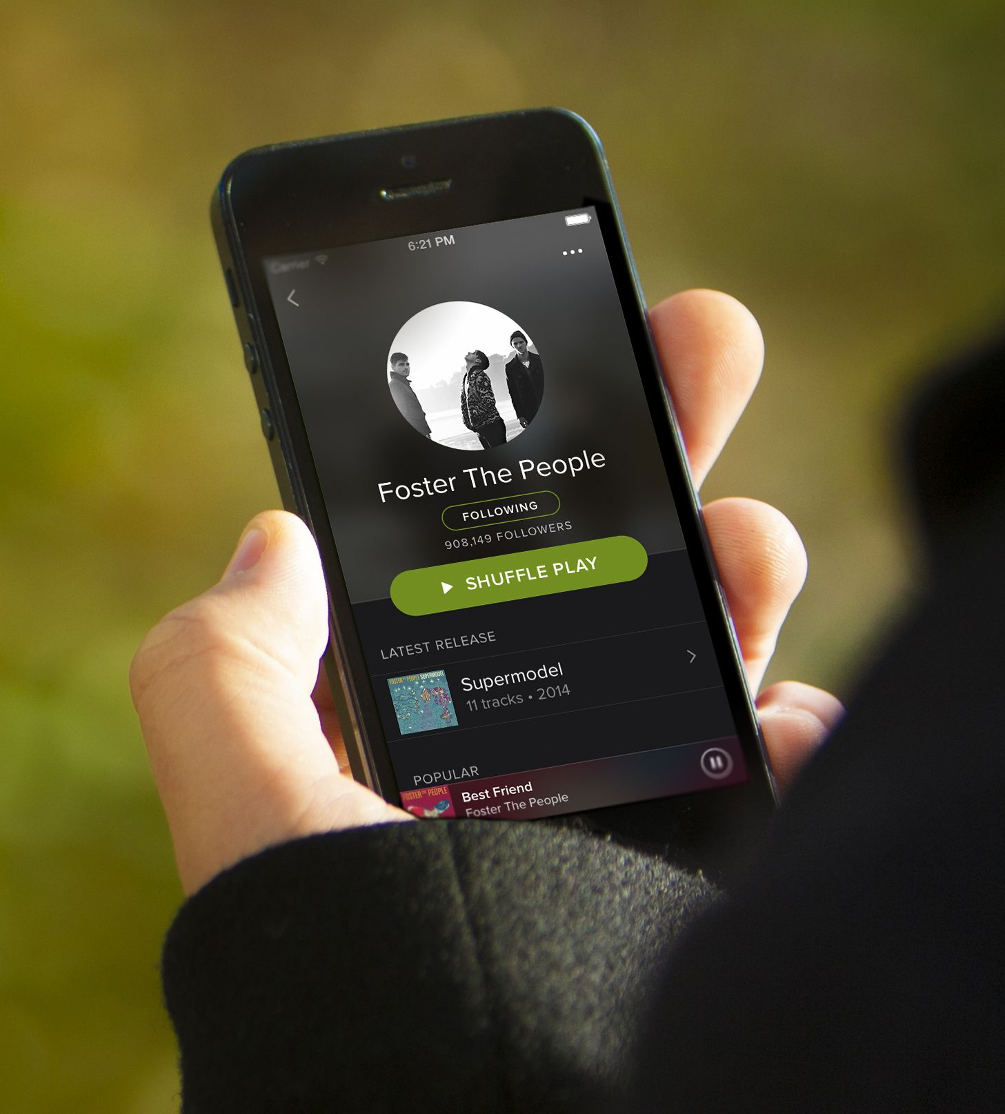 Spotify app iphone music free on demand digital
