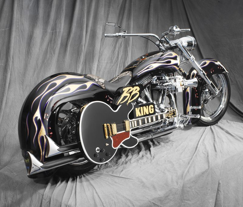Bb King Custom Bike Brought To You By House Of Insurance