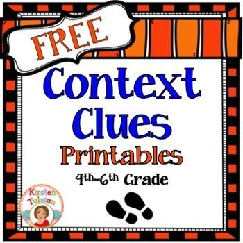 context clues reading passages pdf