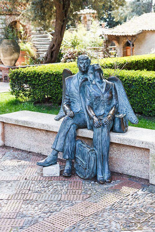 Sculpture in Sicily, Italy - photo by Valery Voennyy, via Flickr