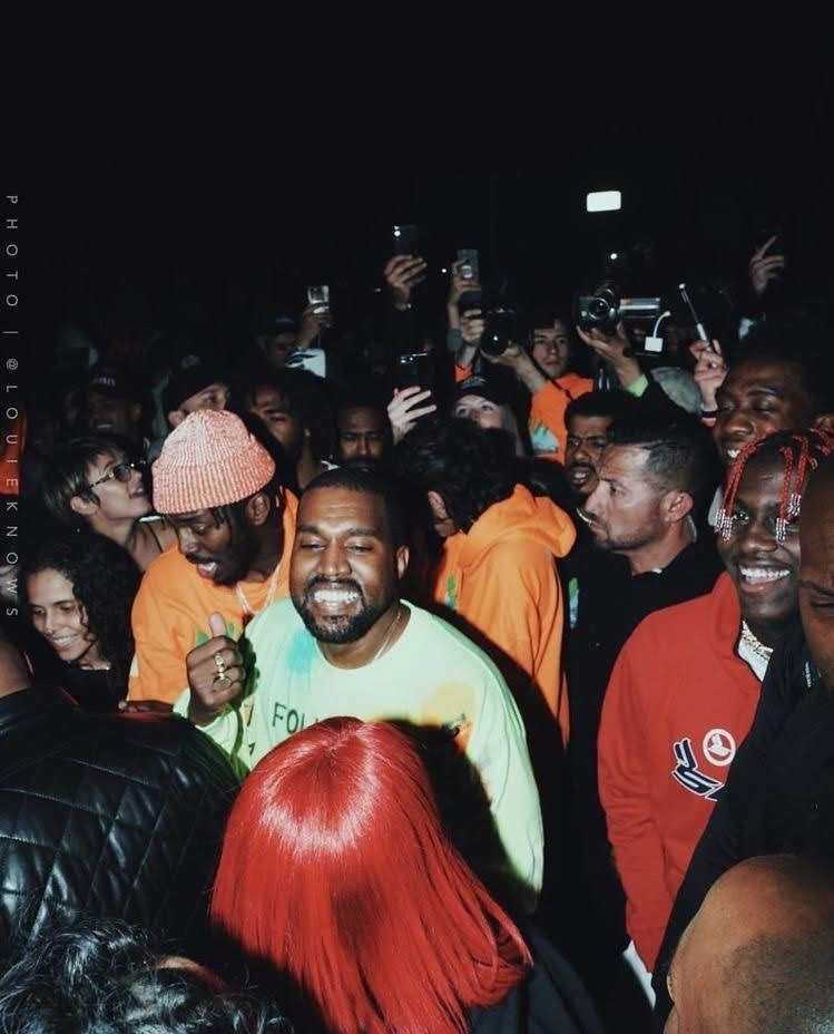 Pin By Clarisa On Sat Sun Color Pics Kanye West Wallpaper Kid Cudi Kanye West Smiling