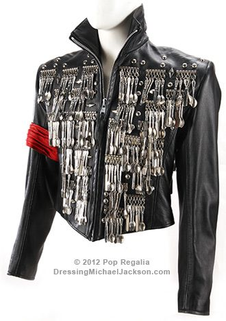 Rare MJ Michael Jackson Show This is it Black Crystal Press Conference  Jacket 7087d8ddb772