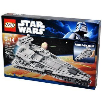 LEGO 8099 StarWars Midi-Scale Imperial Star Destroyer
