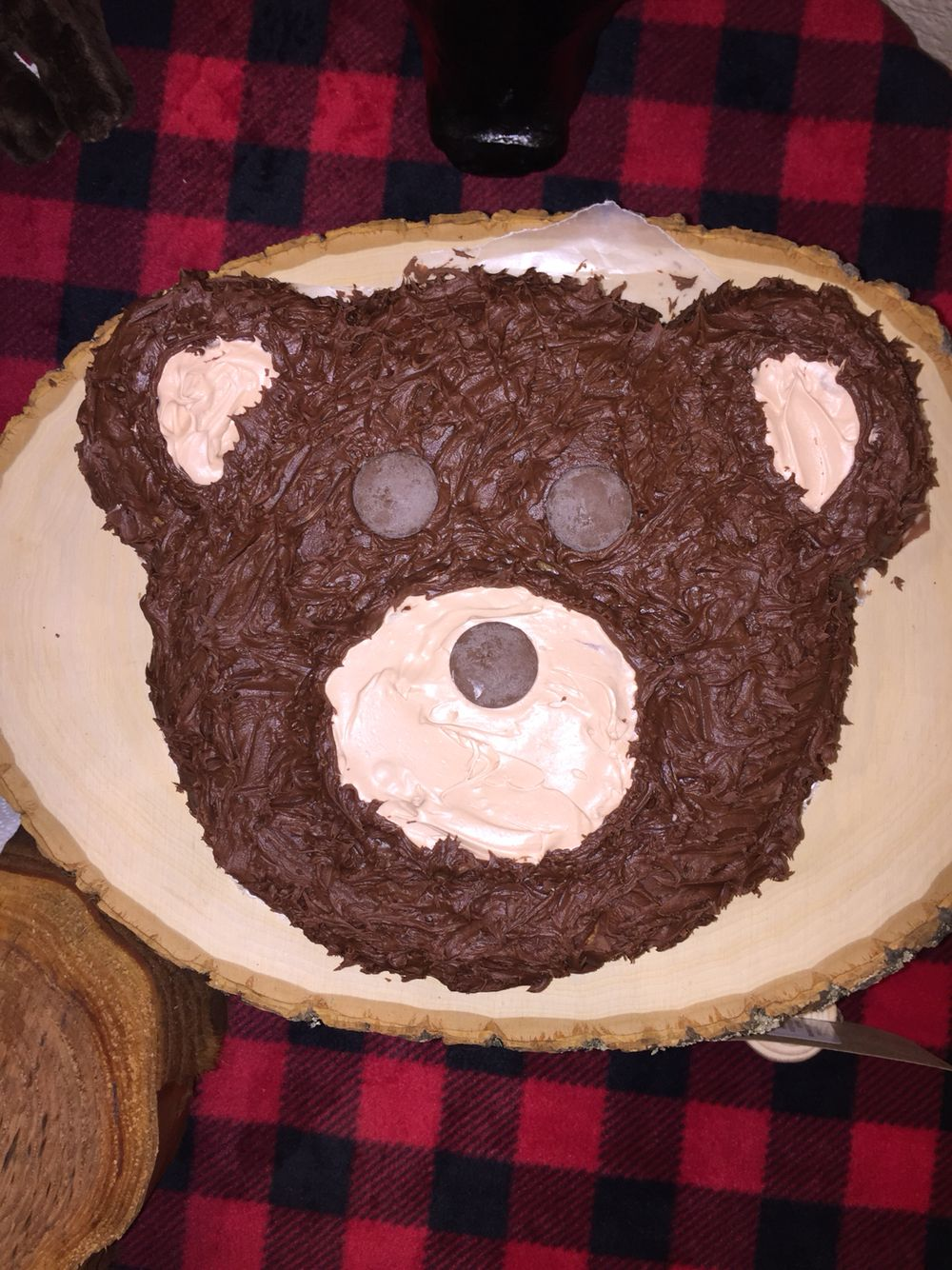 First Birthday Bear Cake
