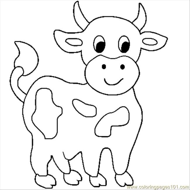 Cow Coloring Pages For Kids Google Zoeken Cow Coloring Pages Farm Animal Coloring Pages Animal Coloring Books