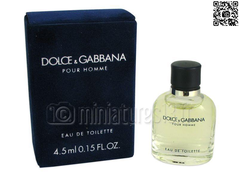 Dolceamp; Miniature 5ml Pour Hommeeau Gabbana De 4 Toilette OXZkuiP