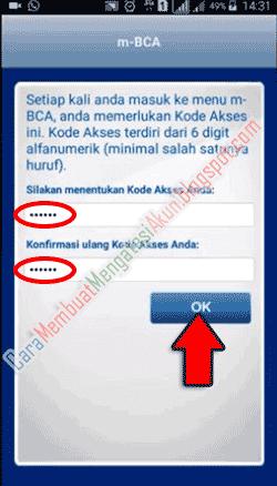 Pin Di Cara Mengaktifkan M Banking Bca Di Aplikasi M Bca Lewat Hp Android