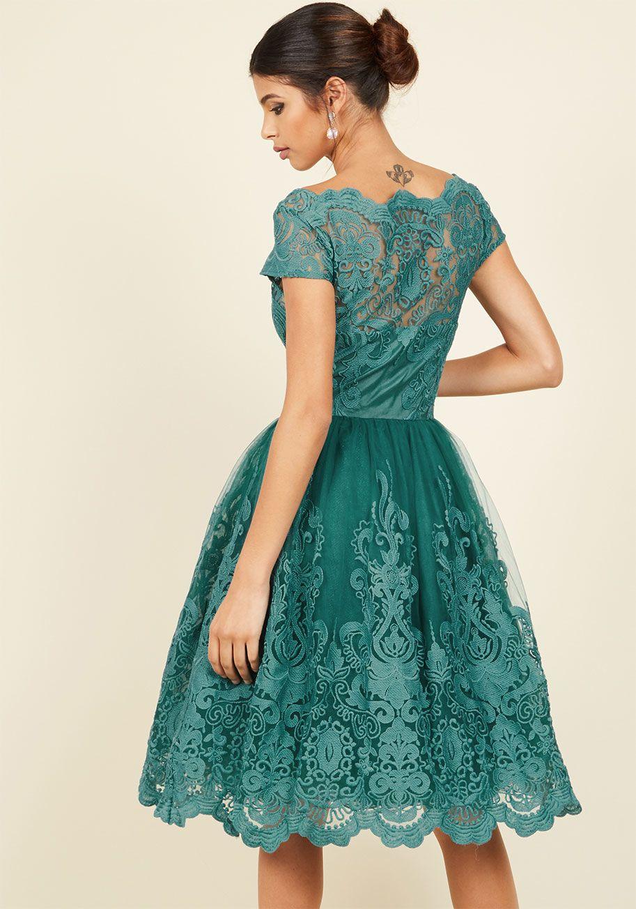 APRIL - Sukienka koktajlowa - navy | Chi chi, Wedding guest dresses ...