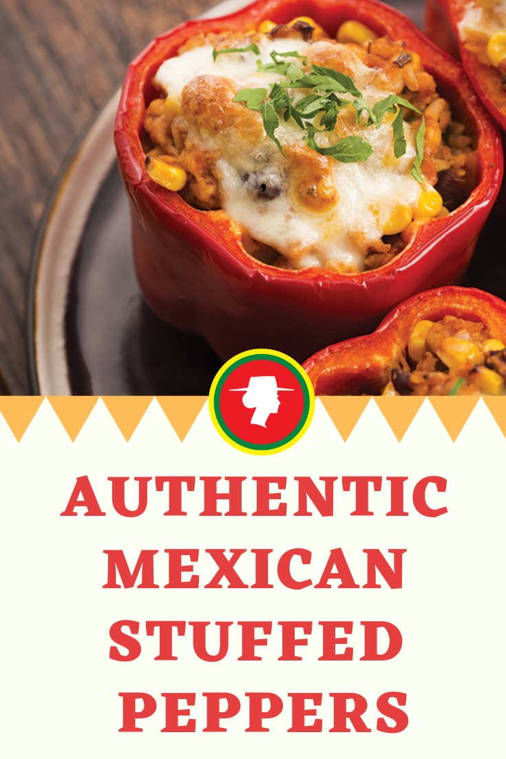 Authentic Mexican Stuffed Peppers Entree Recipe La Preferida Recipe Stuffed Peppers Entree Recipes Recipes