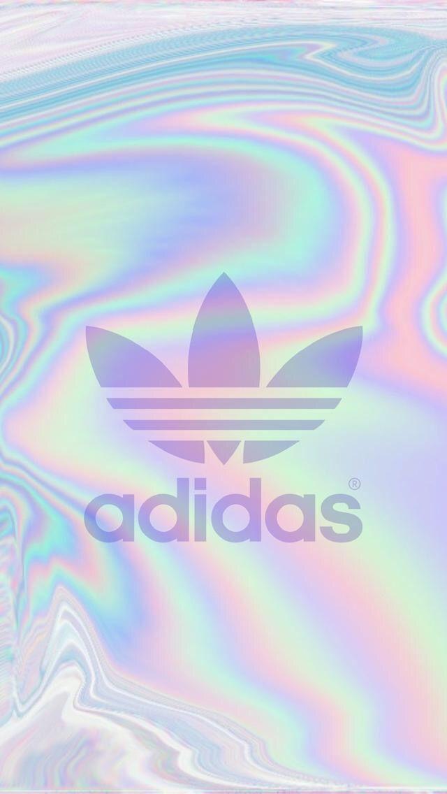 Adidas Holographic Wallpaper