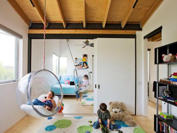 Plafond, équipement suspendu salle de jeux Inspiration maison