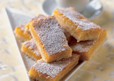 Double Lemon Bars Bon Appetit Lemon Bars Recipe Lemon Bars Bars Recipes