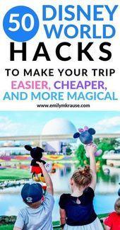 Photo of 50 Disney World Hacks, um Ihre Reise einfacher, billiger und magischer zu gestalten – A …