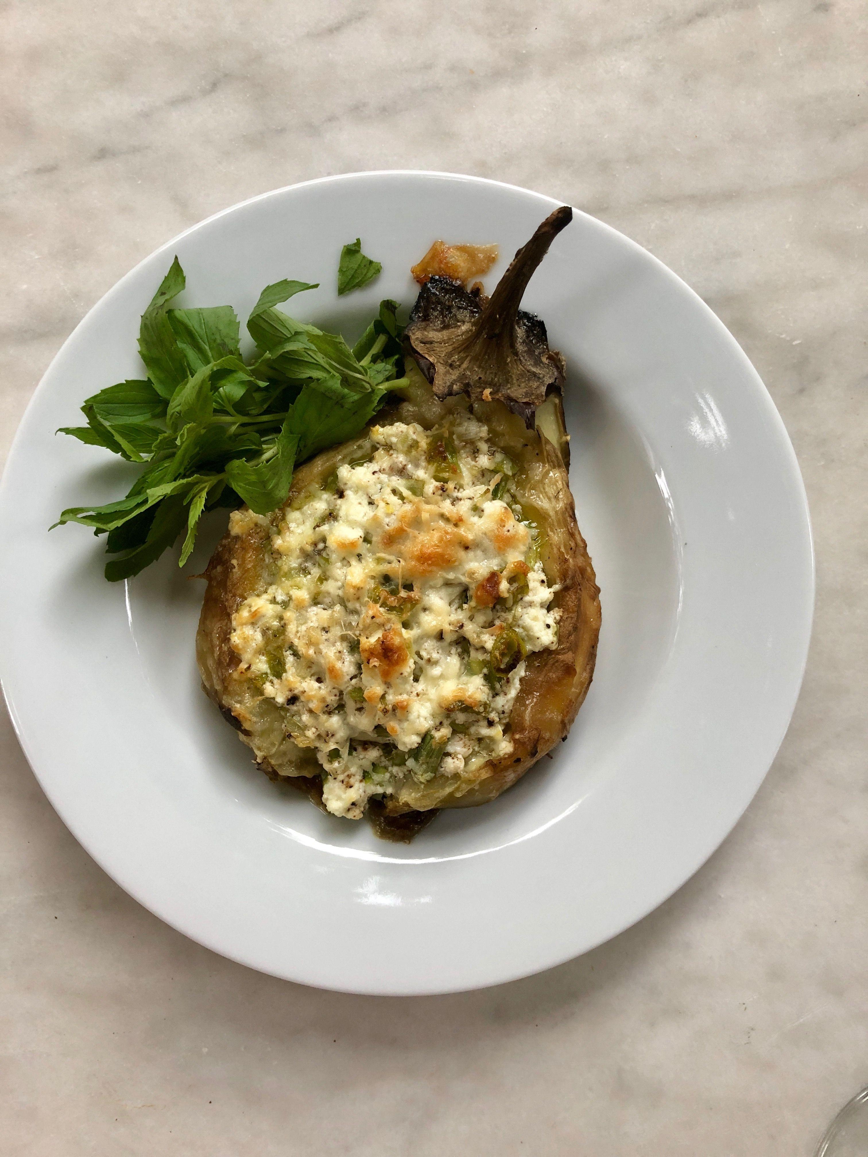 Köz Patlıcan Dolgulu Tortellini Tarifi – Hamur İşleri