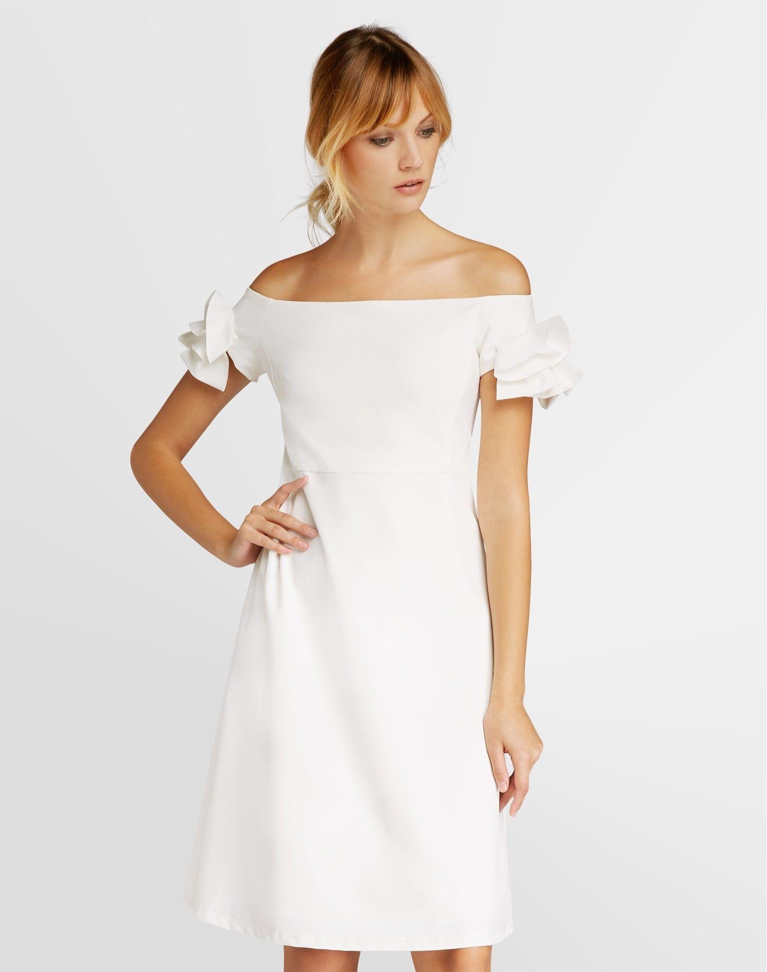 APART Kleid Damen, Weiß, Größe 14  Kleider, Apart kleider