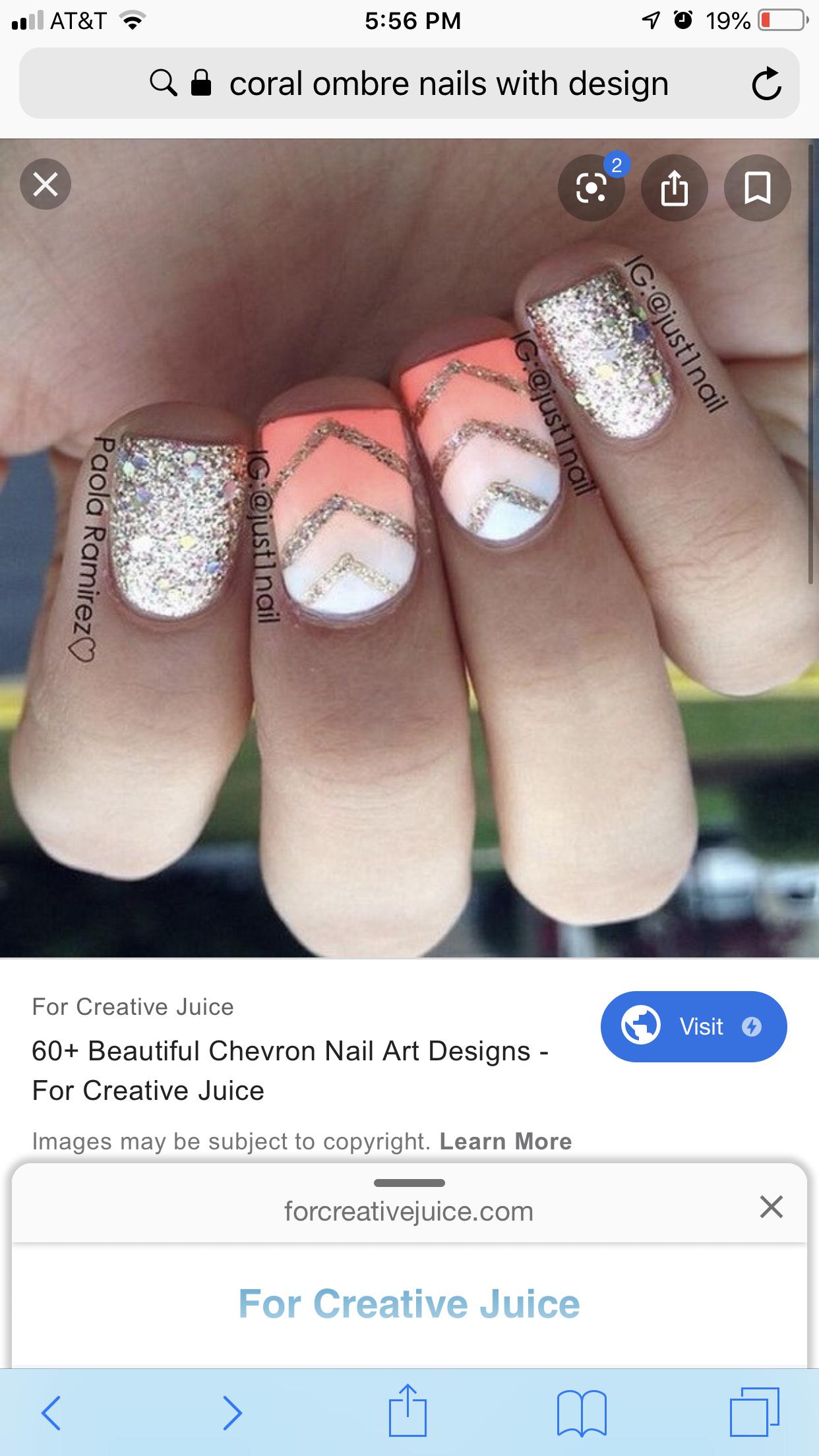 Striped nails   Nail polish designs, Beauty nails, Nails