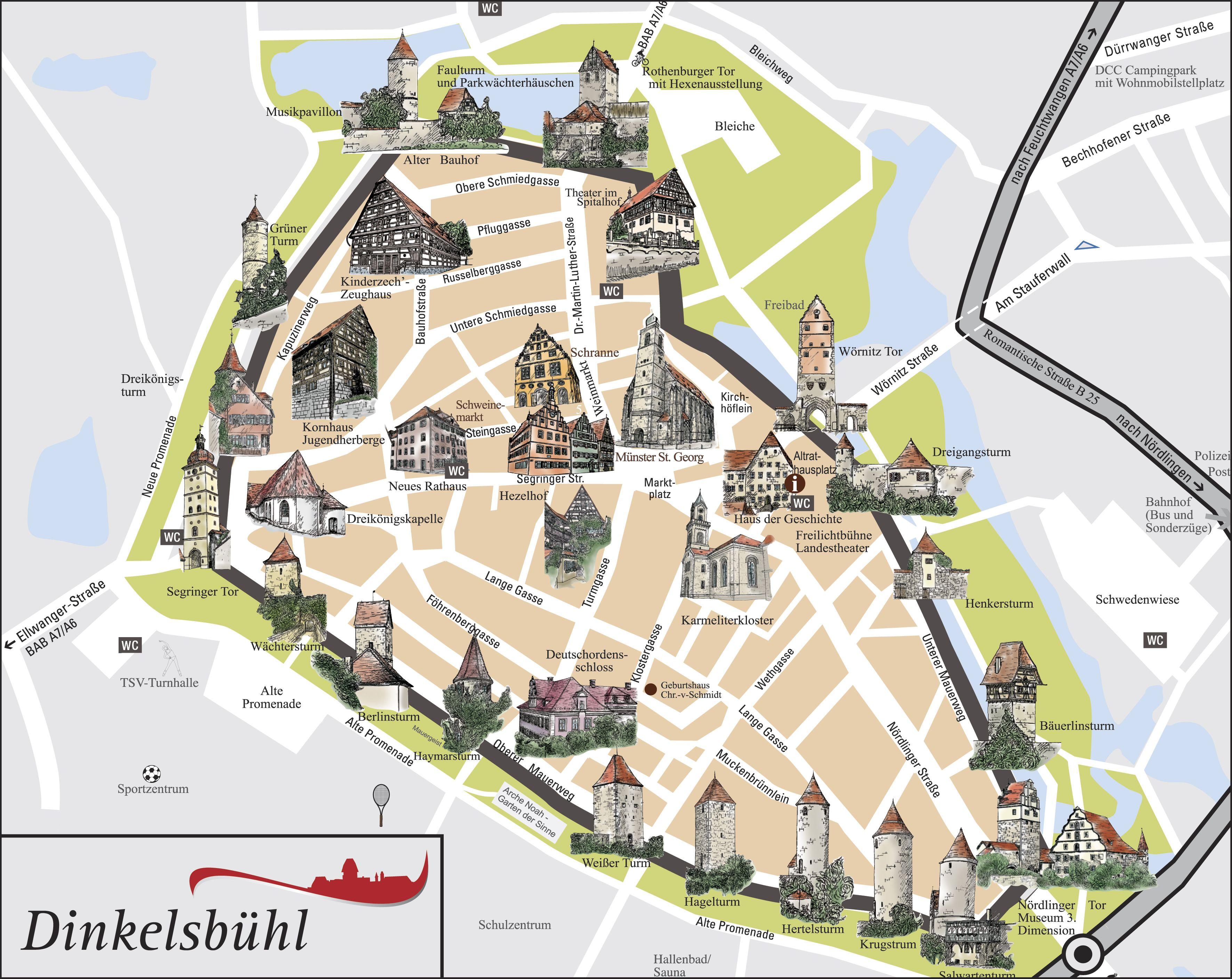 Dinkelsbühl   Germany | Germany in 2019 | Germany, Bavaria, City