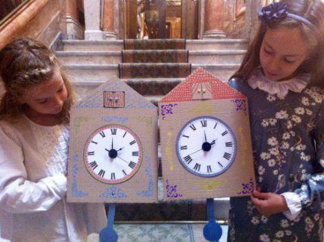 Con una propuesta bastante escueta sobre ¿relojes?, nos acercamos al MuseoCerralbo a realizar una visita-taller sobresaliente, como acostumbran