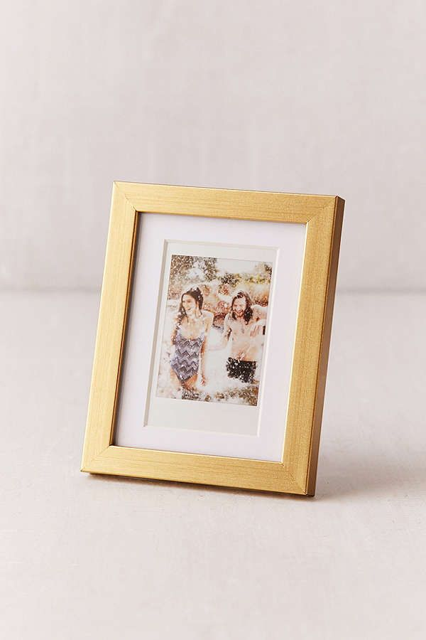 Instax Brushed Gold Picture Frame | Apartments and House