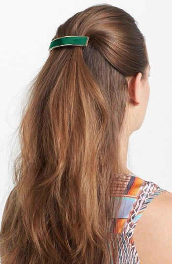The Finest Accessories Rectangle Volume Hair Barrette Rml1uHbn