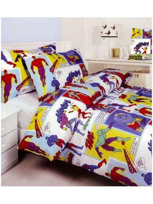 superhero bedding quilt cover set single super hero boys phantom comic book