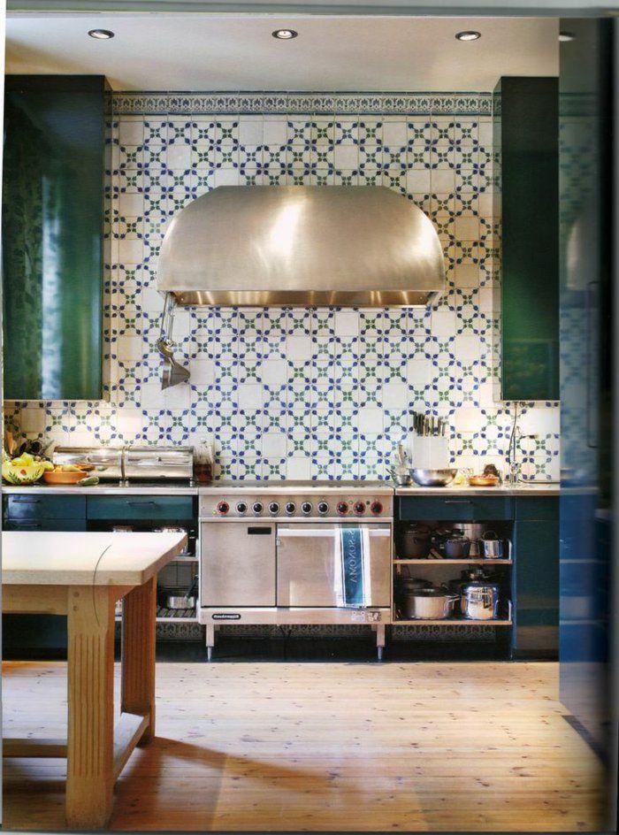 Le carrelage mural en 50 variantes pour vos murs! Interiors and - recouvrir carrelage mural cuisine