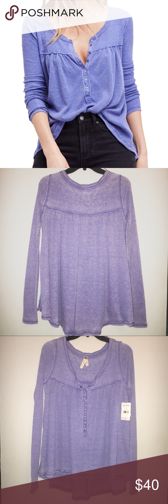 Free people kali henley top offers are welcome nwt in my