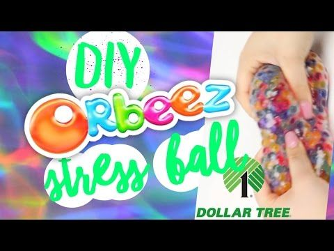 how to make a stress ball with fishnet