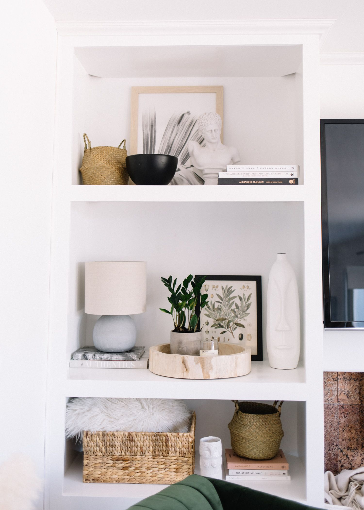 Pin On Home Decor Style #shelf #decor #living #room