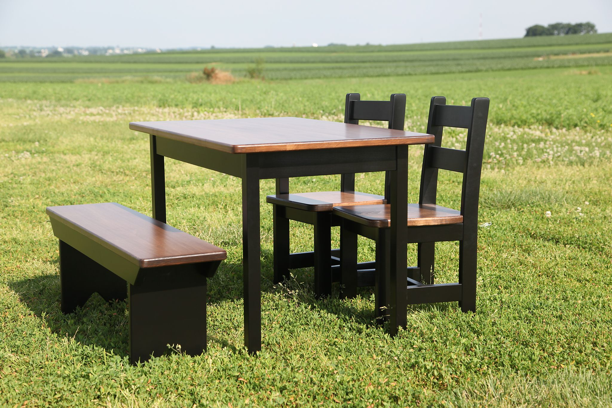 chairs table and espresso ip s piece com walmart child chair children