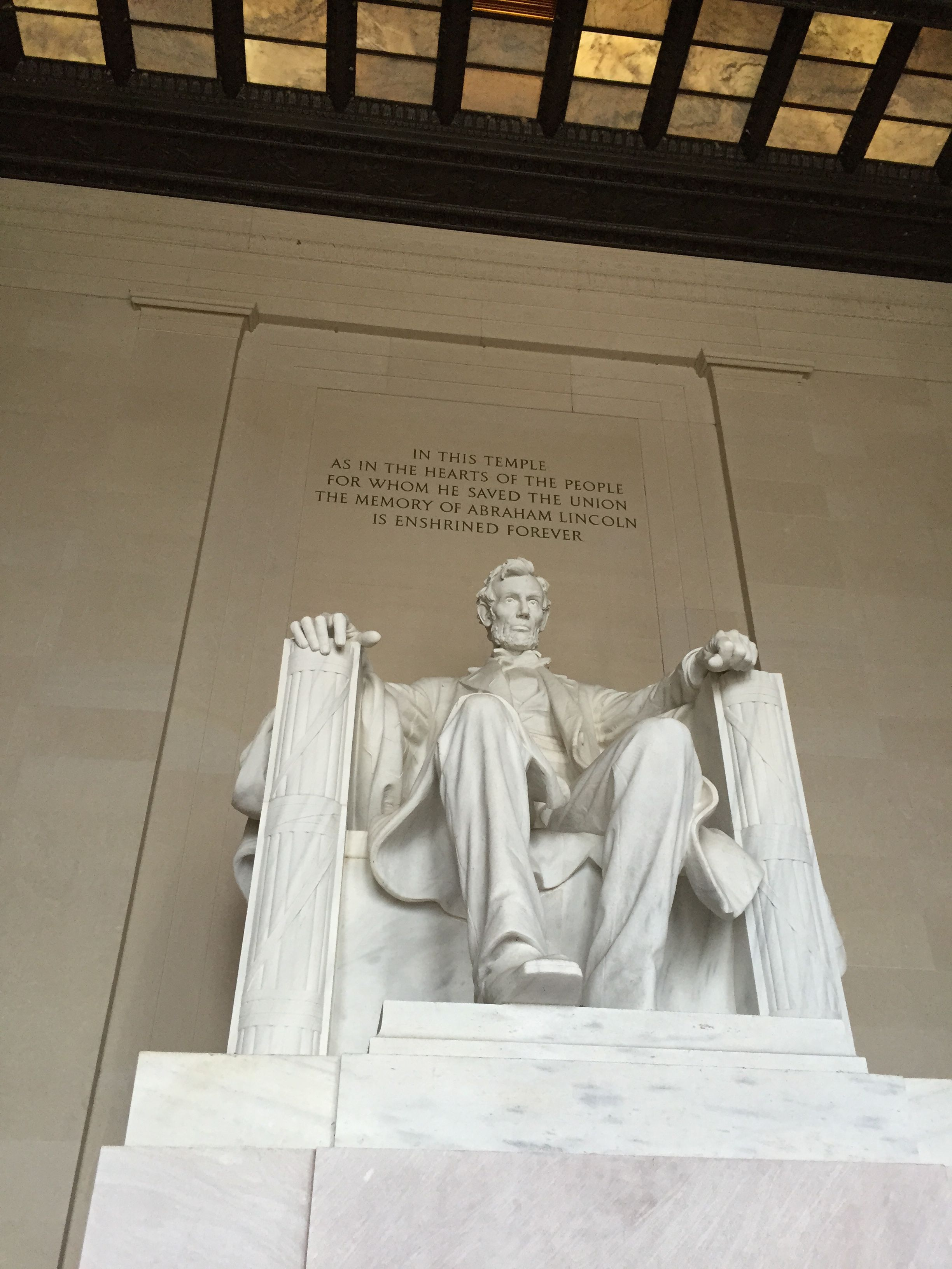 Abraham Lincoln Memorial in Washington, D.C. is a site to see!