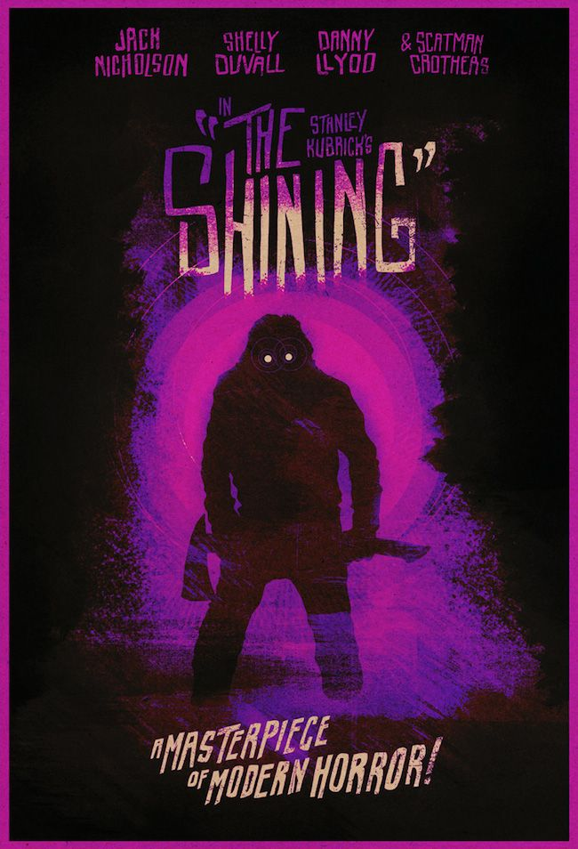 Haunting Poster Art for THE SHINING | The shining poster ...