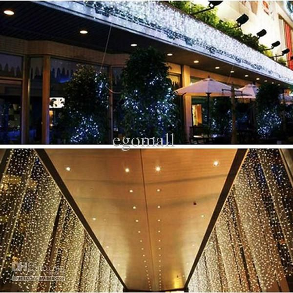 Wholesale Curtain Lights - Buy 10Mx3M 1000LED White Outdoor Party