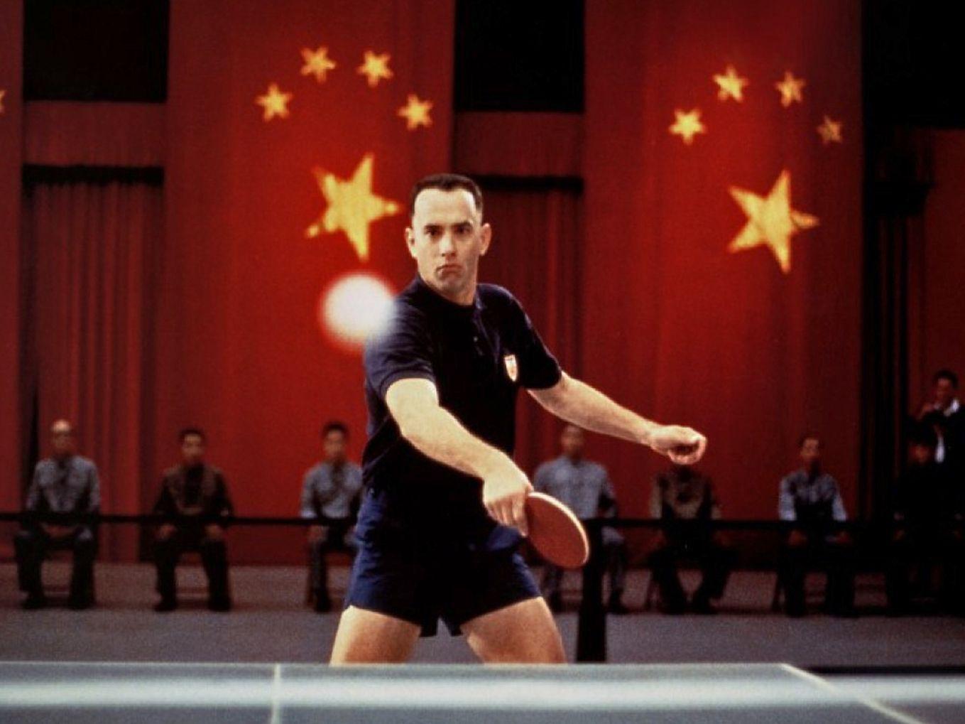 Forrest gump table tennis film pinterest tennis for Table 9 movie