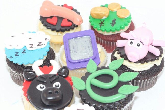 The Seven Deadly Sins Cupcake Topper