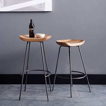 Superb Alden Bar Stool Natural Mango Set Of 2 Counter Stools Gmtry Best Dining Table And Chair Ideas Images Gmtryco