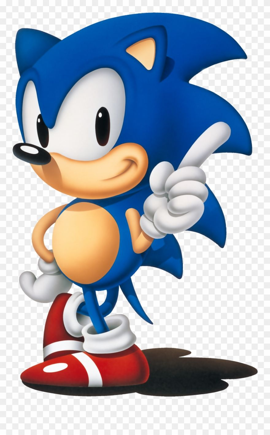 Sonic The Hedgehog 1991 Png Clipart Sonic Classic Sonic Sonic The Hedgehog