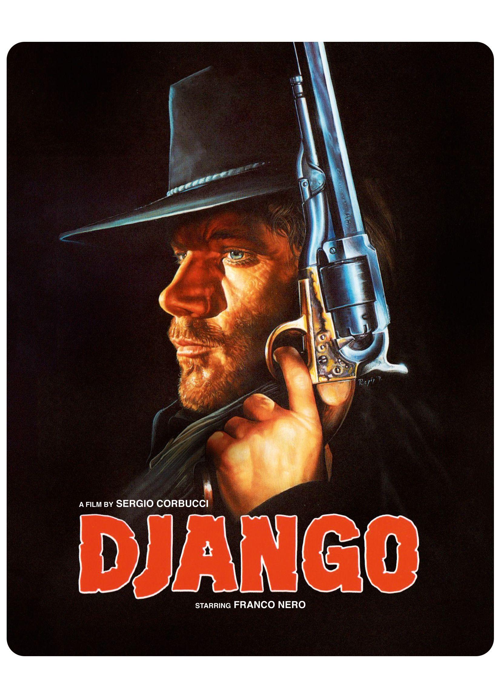 Django + Texas Adios SteelBook Blu ray, Clint eastwood