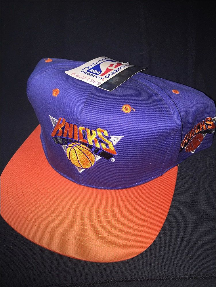 Vintage Deadstock 90 s NBA New York Knicks Snapback Hat Cap by  RackRaidersVtg on Etsy b2fc5cc63b12